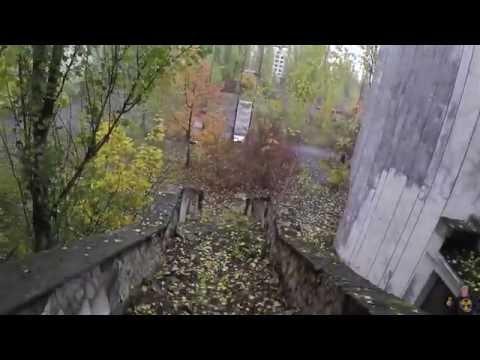 Ресторан в центре Припяти / The restaurant is in the center of Pripyat