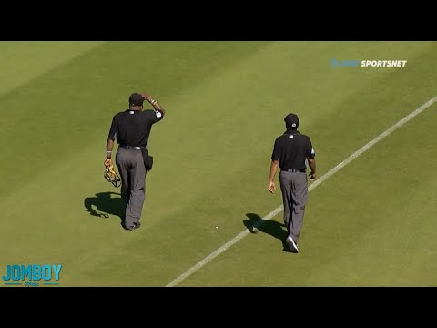 Umpire gets a chance to end the game and takes it, a breakdown
