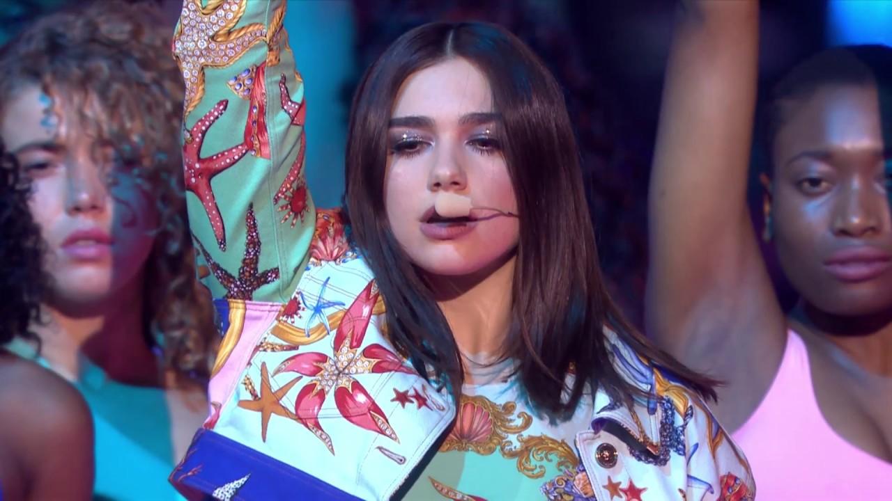 Dua Lipa New Rules Live At The BRIT Awards 2018 YouTube