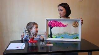 видео Весна аппликация. Аппликация на тему «Весна» в детский сад