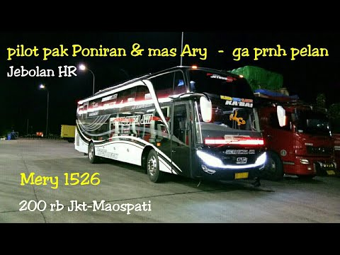 jet darat,Trip report Sudiro tungga jaya Kabai,Bekasi-Solo