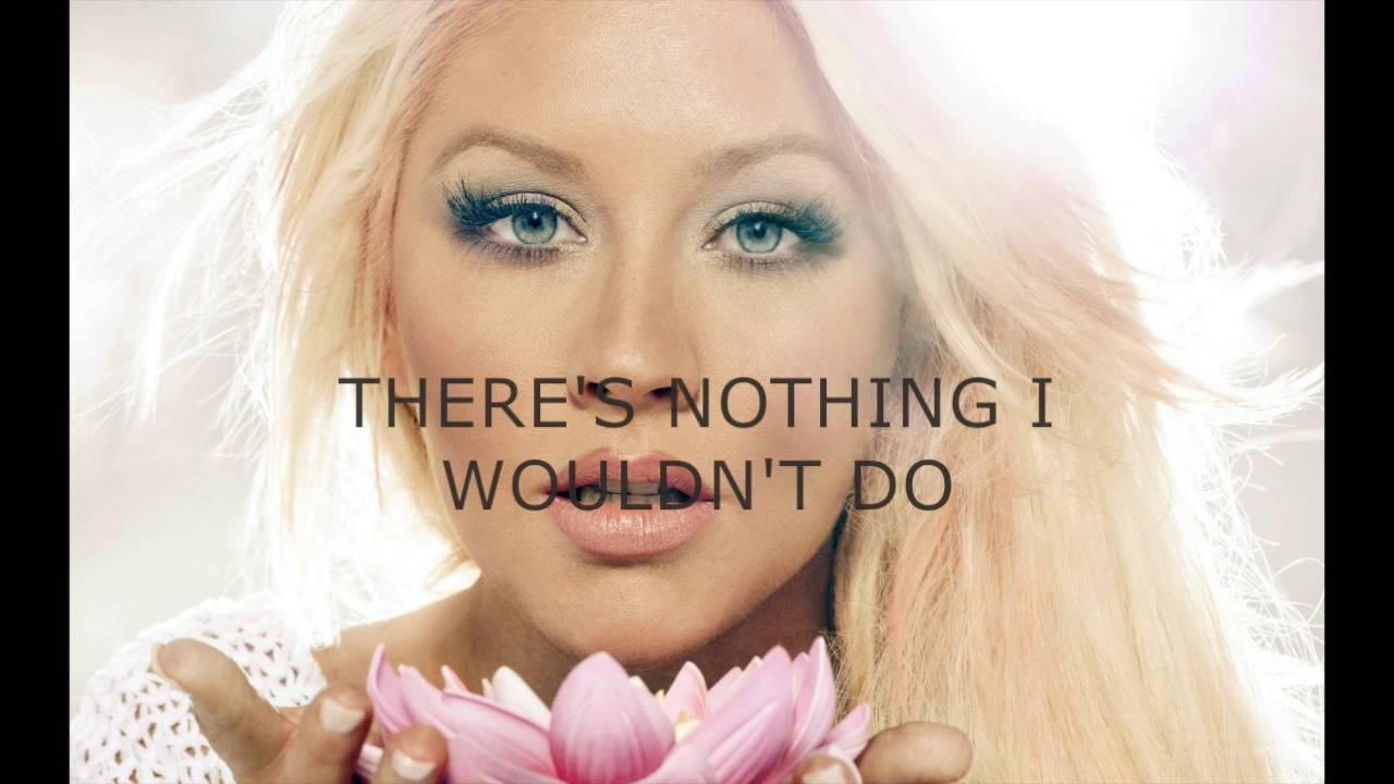 Hurt (-2) - Christina Aguilera - karaoke female lower ...