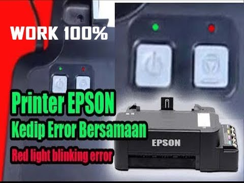 How to Cleaning Epson Printer All Type (Printout is Broken).
