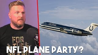 Pat McAfee's HILARIOUS Colts' Plane Story