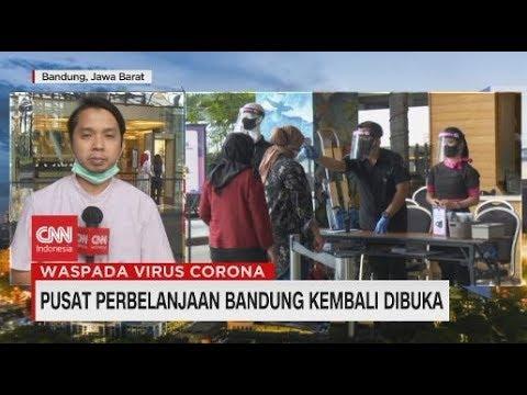 Pusat Perbelanjaan Bandung Kembali Dibuka