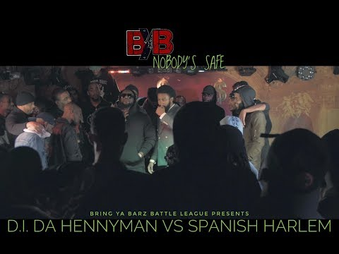 Spanish Harlem vs D.I. Da Hennyman - Bring Ya Barz Battle League - Nobody's Safe