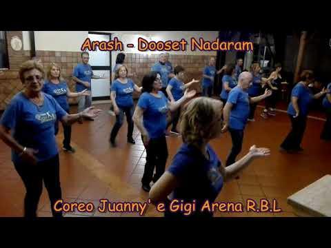 Arash - Dooset Nadaram - Coreo Juanny' e Gigi Arena RBL