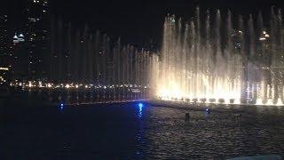 Dubai Fountain - Baba Yetu show