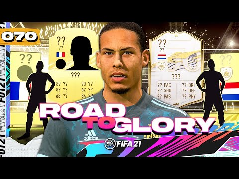 FIFA 21 ROAD TO GLORY #70 - ICON PACK!!!