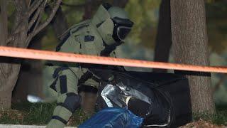 국회 폭발물 의심 신고 가방은 '빈 가방'…