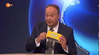 heute-show (20.09.2013) Oliver Welke trauert um FDP
