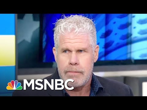 Ron Perlman Talks President Donald Trump Speech Patterns  AM Joy  MSNBC