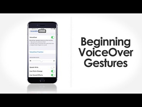 iFocus Beginning VoiceOver Gestures - Apple Accessibility