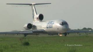 Tupolev Tu-154M UTair take-off