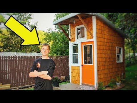 13-летний Парень Построил Свой Дом за $1500