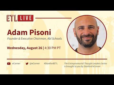 ETL Speaker Series: Adam Pisoni, Abl Schools