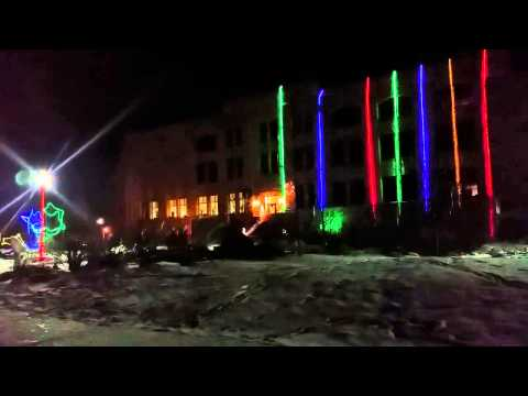 Courthouse Lightshow 2015