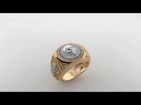 Timelapse modeling finger-ring for 3D print in Blender 3D