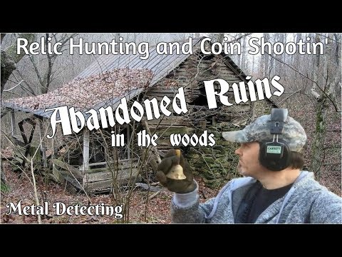 Searching for Abandoned Ruins in the Woods - Metal Detecting Video