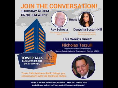 Tower Talk Business Radio: N. Terzulli (Nassau County IDA)