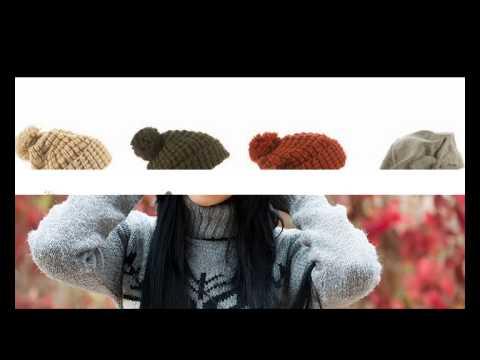 Женская шапка со жгутами. Весенняя шапка спицами. Hat. Knitting .