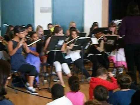 san ramon elementary school band #5