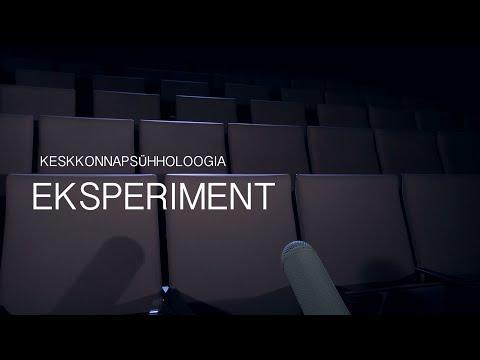 Keskkonnapsühholoogia Eksperiment