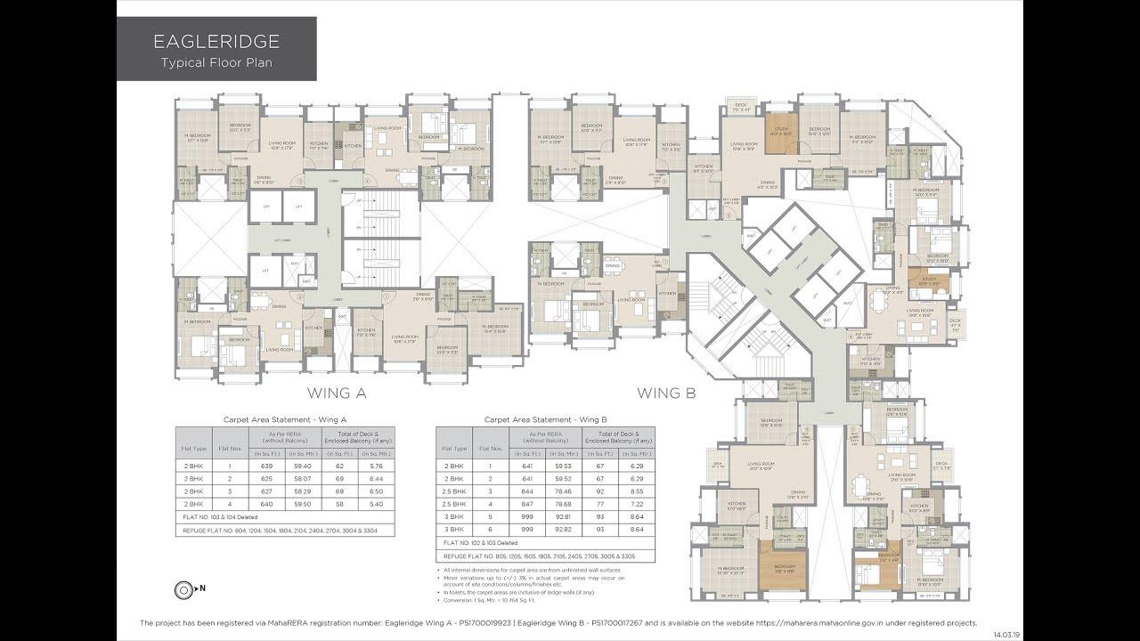 Hiranandani Eagleridge Floor Plan Hiranandani Estate Towers Thane West Mumbai Youtube