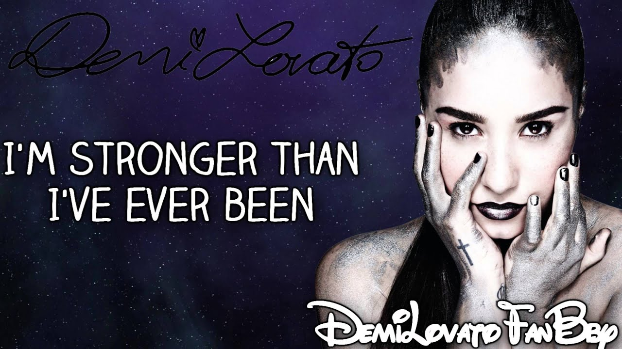 demi lovato warrior lyrics - photo #4