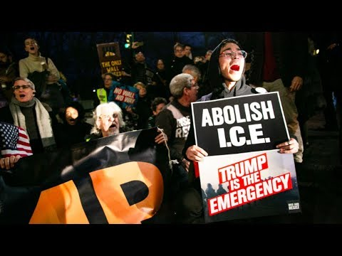 Is ICE Trying to Intimidate Anti-Trump and Anti-ICE Protest?