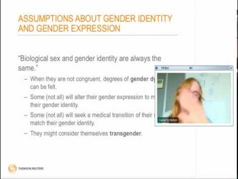 Pride At Work presents: Gender Identity -- A Spectrum, Not A