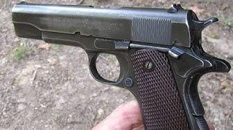 1911 WWII Colt Close-Up