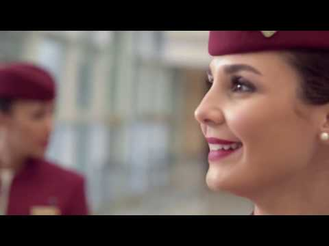 QATAR AIRWAYS CABIN CREW LIFE - Documentary