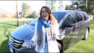 2015 Honda Odyssey LX Review and Test Drive | Herb Chambers Honda ©
