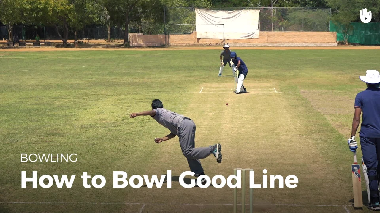 How to Bowl Good Line | Cricket