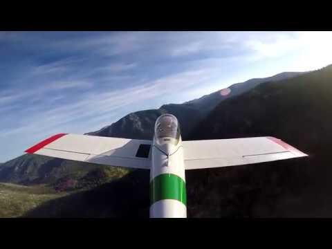 Johnson Creek Airstrip Takeoff