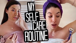 MY REAL SELF CARE ROUTINE 2020 💓🏠| Adriana Spink