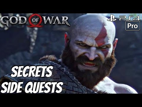 GOD OF WAR 4 - Legendary Dwarf King Armor & Reginn Dragon Location (PS4 PRO)