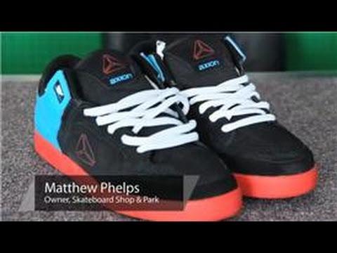 3eeb8a01c2a5c Skateboarding Gear : How to Tie Skateboard Shoes