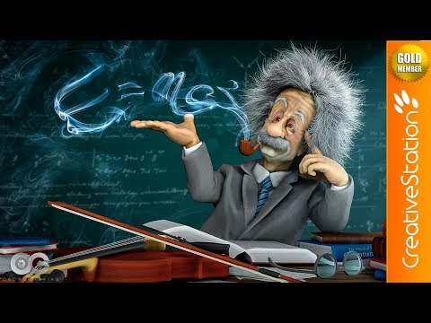 E=MC² - 3D Speed Art (#Zbrush, #Marvelous Designer, #Photoshop) | CreativeStation GM