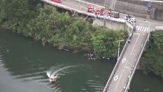 ダムに車転落、5人死亡、1人重体 大阪・河内長野市