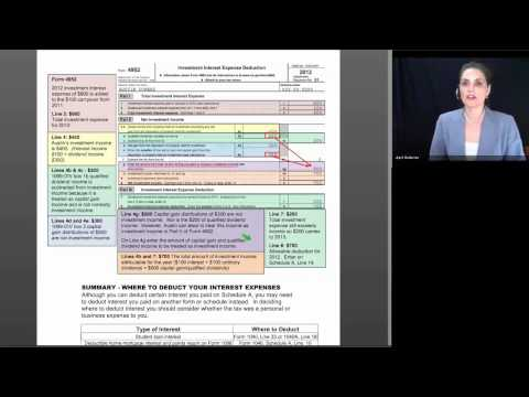Basic Session 9 - Itemized Deductions (Interest & Charity) - 2012 Tax Law