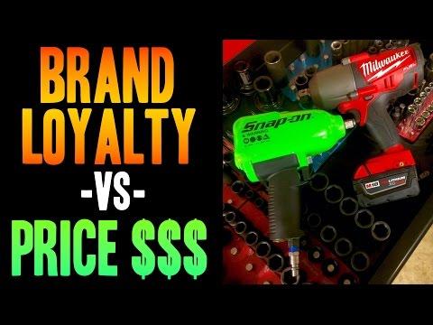 Brand Loyalty -VS- PRICE $$$ (Snap on, Harbor Freight, Milwaukee, Dewalt, Makita, MAC, Matco)