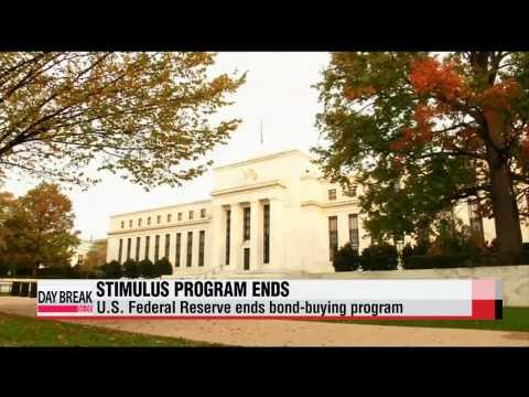 "U.S. Fed ends quantitative easing stimulus program   연준, 양적완화 종료 선언…""상당기간 초"