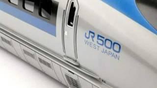 JR新幹線500系のぞみ 疾走篇 1/45 Oゲージ クマタ貿易