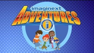 Adventures Cartoon for Preschoolers: Through the Crystal Eye | Imaginext | Fisher Price