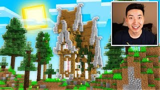 Building My First House in Minecraft 1.14 - Episode 2