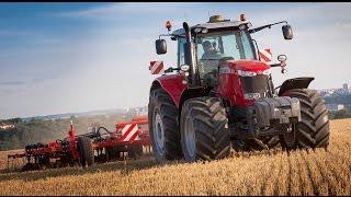 Обзор, тест драйв трактора Massey Ferguson 8 часть. новый трактор