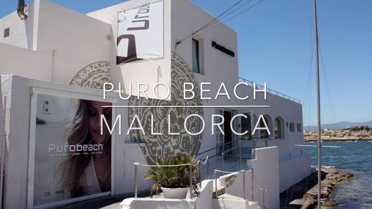 Pool Mallorca Puro Beach, Mallorca - Youtube