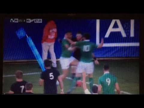 Ireland beat All Blacks Chicago 2016